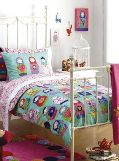 The Sunny Sunflower House Russian Doll Bedroom