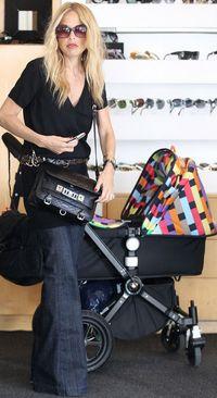 Rachel-Zoe-baby-Skylar-Bugaboo-Missoni-Cameleon-Stroller