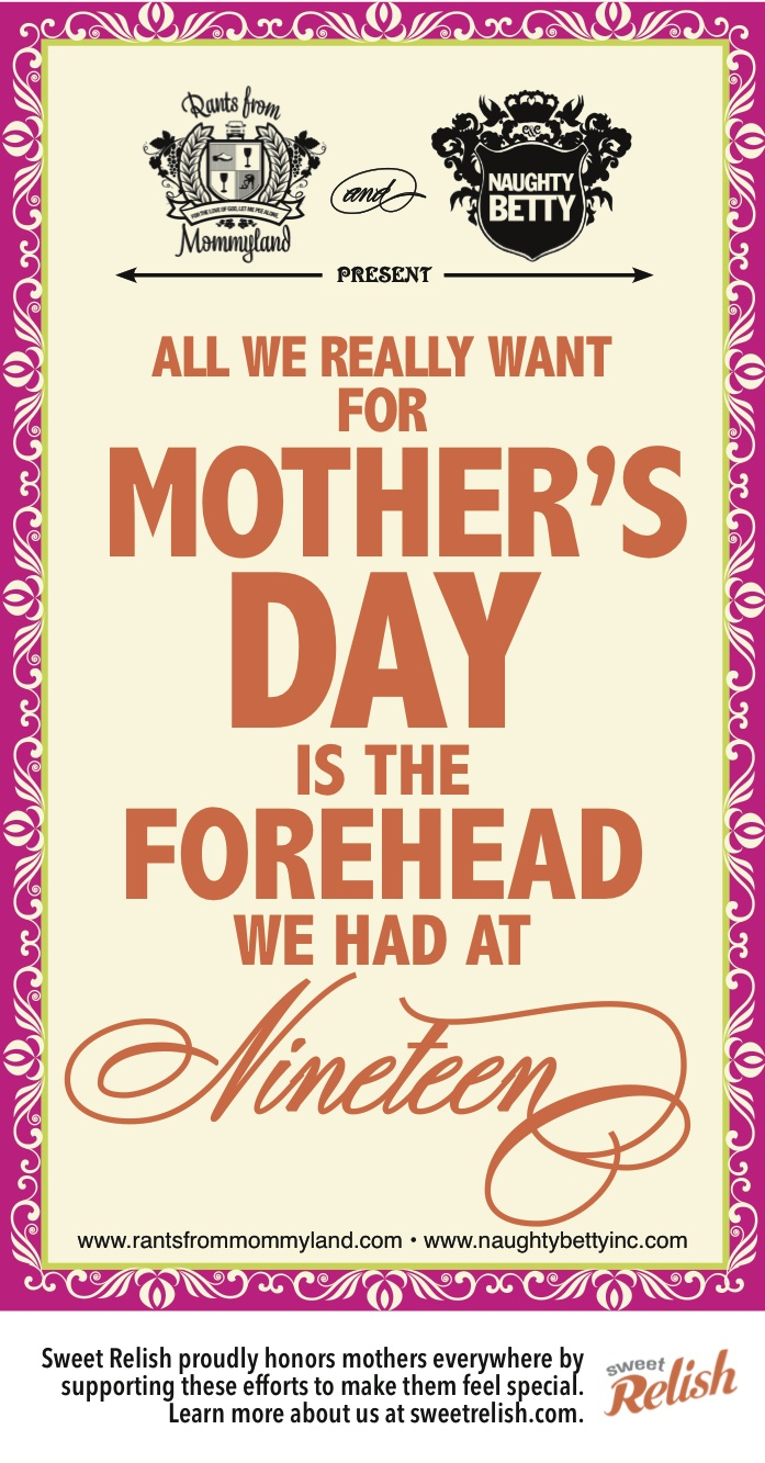 MOTHERS DAY ECARD FOREHEAD