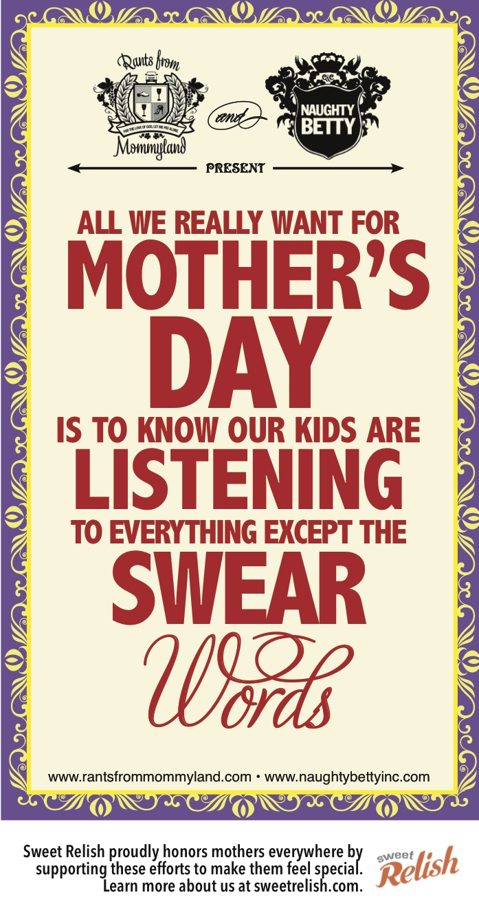 MOTHERS DAY ECARD SWEAR